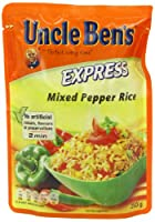 UNCLE BEN'S Express Mixed Pepper Rice 250 g (Pack of 6)
