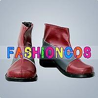 ★サイズ選択可★女性25CM UA0411 テイルズ オブ ジ アビス ルーク・フォン・ファブレ Luke コスプレ靴 ブーツ