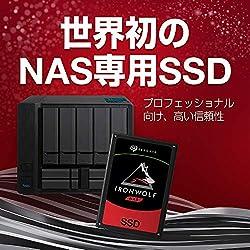 【Amazon.co.jp限定】Seagate IronWolf 110 内蔵SSD 3840GB 5年保証 正規代理店 2.5インチ SATA 6Gb/s 3D TLC ZA3840NM10011