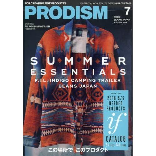 PRODISM(プロディズム) 2016年 07 月号 [雑誌]