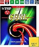 TSP ヤマト卓球ラケット用ラバー カールP-1R ソフト 020505 粒高 黒 ウス