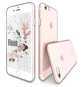 Finon(フィノン)パーフェクト クリアボディー【クリアハード プロテクションケース】指紋が付かないフィルム付【iPhone7】専用 ケース カバー…