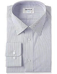 [オリヒカ] 【形態安定シャツ】防菌防臭機能付き 選べるバリエーション 1900長袖ワイドカラー