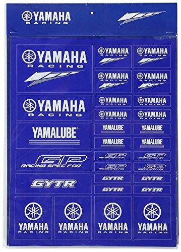 ヤマハ(YAMAHA) ステッカー ヤマハレーシング 2017-2018 YRH04 レーシングステッカーシート (Racing sticker set) 90792-Y0750