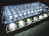 Officek 角型LEDサイドマーカー アンダーライト ダウンライト トラックマーカー 白 ホワイト 10個セット 全5色
