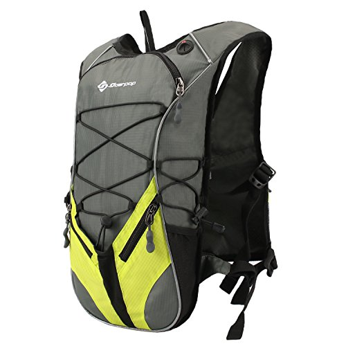 Soarpop サイクリングリュック 軽量 アウトドアバッグ スポーツ最適 撥水ナイロン 多機能 男女兼用 グリーン