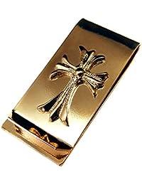 ダガーマネークリップ スマート 財布 メンズ 男性用 ビジネス 札ばさみ ペーパークリップ ゴールド カード m2