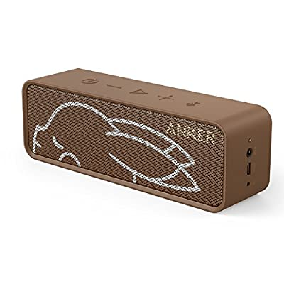 Anker SoundCore ピカチュウ ポータブル Bluetooth4.0 スピーカー 24時間連続再生可能【デュアルドライバー/ワイヤレススピーカー/内蔵マイク搭載】