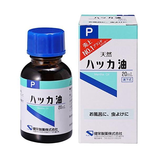 ハッカ油P 20mlの商品画像