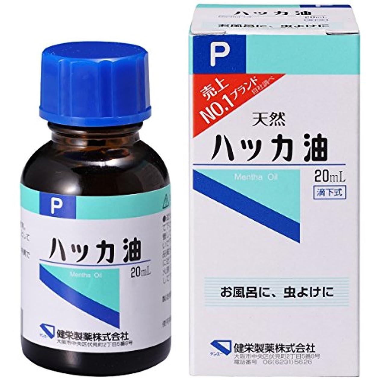 程度健康毛細血管ハッカ油P 20ml