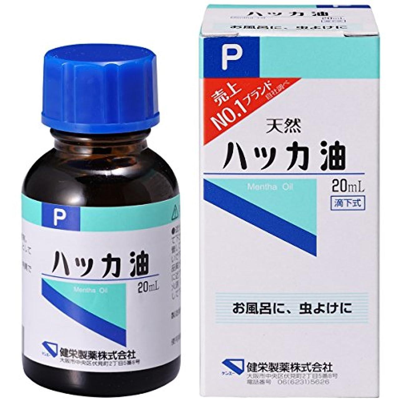 開梱体将来のハッカ油P 20ml