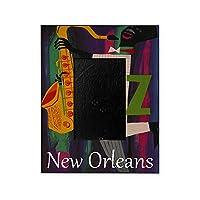 CafePress–ヴィンテージ新しいOrleans旅行–装飾8x 10写真フレーム