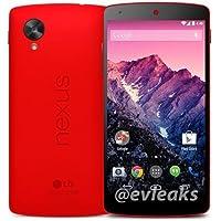 EMOBILE版 Nexus 5 16GB 白ロム(LG-D821)ブライトレッド
