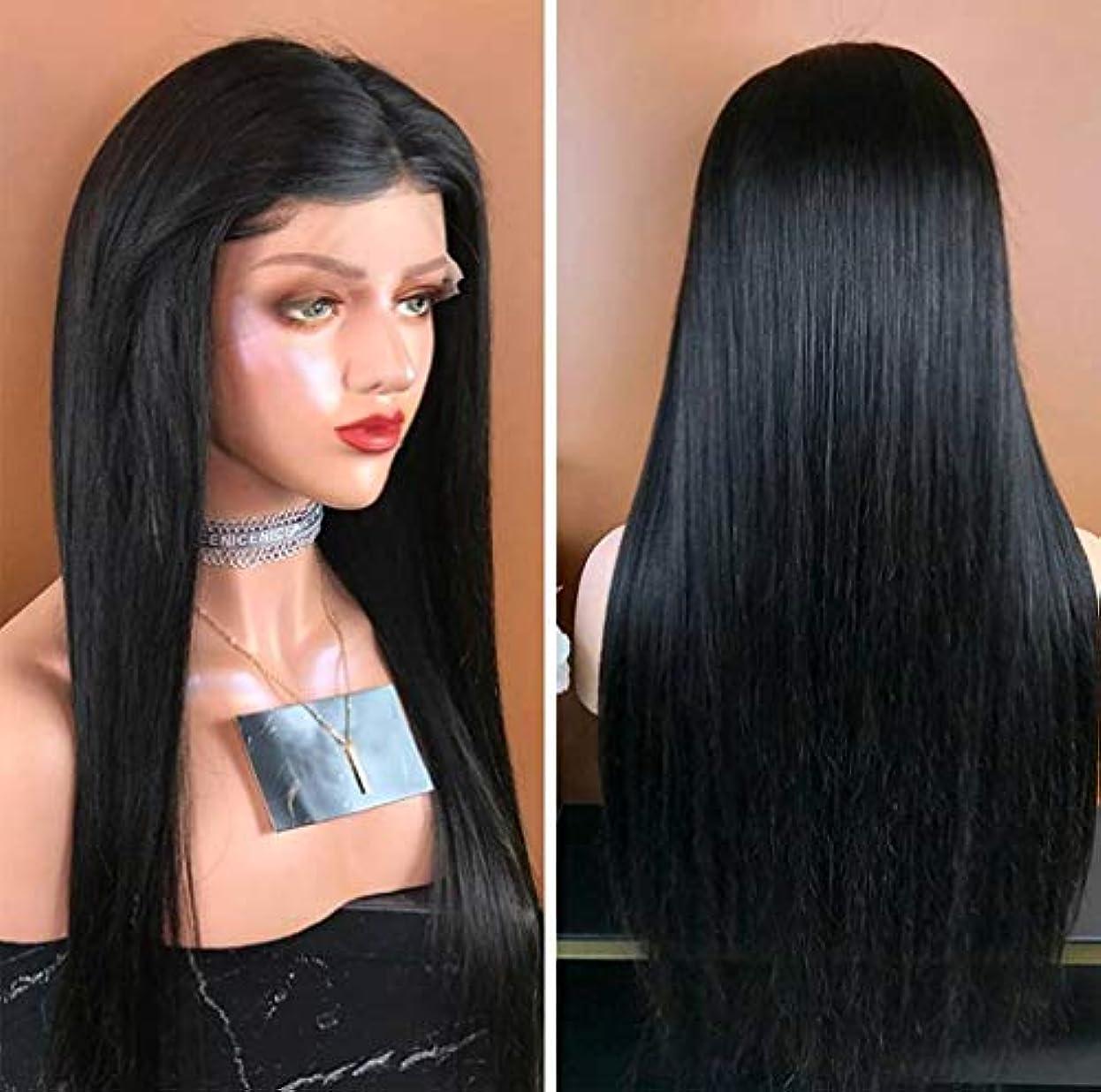 知り合いになる自伝ミュージカル女性360フルレースかつらブラジルバージンストレート人間の髪グルーレスショート人間の髪かつらベビーヘアショートレースかつら調節可能なストラップ