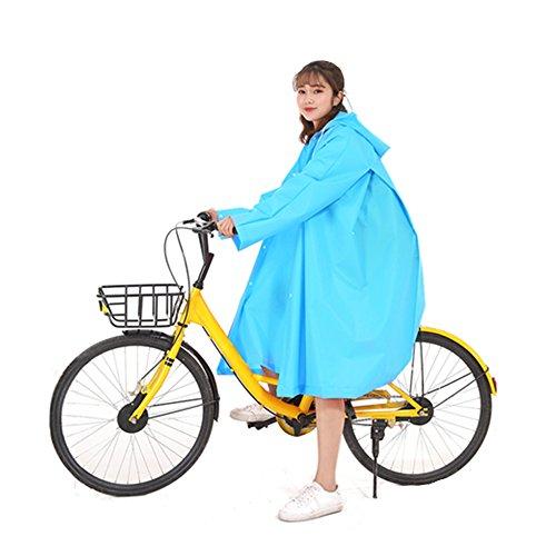 Liife レインコート 自転車 バイク ロング レインポン...