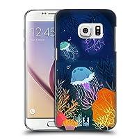 Head Case Designs クラゲ アンダーウォーター・イラストレーション Samsung Galaxy S7 専用ハードバックケース