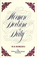 Mormon Doctrine of Deity the Roberts-Van Der Donckt Discussion: The Roberts-Vander Donckt Discussion