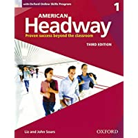 American Headway 1: With Oxford Online Skills Practice Pack (American Headway, Level 1)