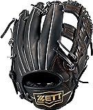 ZETT(ゼット) 野球 軟式 グラブ (グローブ) ウイニングロード オールラウンド 左投用 ブラック(1900) RH BRGB33820