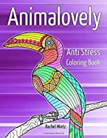 Animalovely - Anti Stress Coloring Book: Zen Relaxation Activity For Adults With Marine Life, Pets & Farm Animals