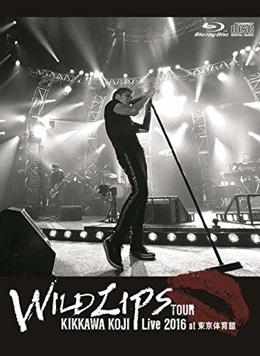"""KIKKAWA KOJI Live 2016 """"WILD LIPS""""TOUR at 東京体育館(初回限定盤)【Blu-ray+CD】の詳細を見る"""