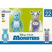ペアボックス賞 サリー ブー モンスターズ・インク Happyくじ Disney/Pixar BE@RBRICK ベアブリック
