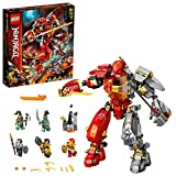 LEGO Ninjago 71720 Fire Stone Mech Building Kit (968 Pieces)