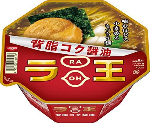 5位 日清食品『日清ラ王 背脂コク醤油』