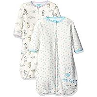 BON BEBE Baby Best Friends Assorted 2 Pack Wearable Blanket Neutral 0-6 Months 【joybaby】 [並行輸入品]