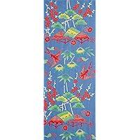 プレーリー 紅型調手ぬぐい カフー(幸せ)の鳥 33×90cm TE-272