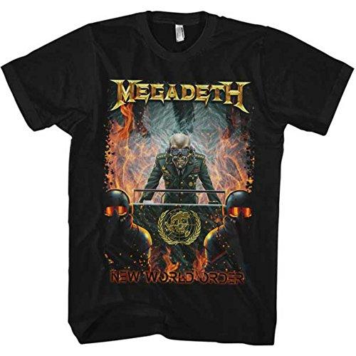 来日記念 MEGADETH - NEW WORLD ORDER/ Tシャツ/ メンズ 【公式 / オフィシャル】