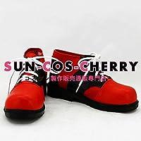 【サイズ選択可】コスプレ靴 ブーツ K-1328 カゲロウプロジェクト シンタロー 如月伸太郎 きさらぎ しんたろう 女性24CM