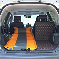 YJH+ アウトドアシングルダブルSUV自動インフレータブルマットレスカーベッドインフレータブルベッドカー車のベッドショックベッドインフレータブルクッション 美しく、寛大な ( 色 : イエロー いえろ゜ , サイズ さいず : A )