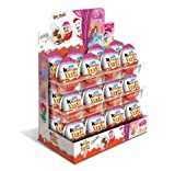 (24-Pack (Girls)) - Chocolate Kinder Joy with Surprise Inside (24-Pack (Girls))