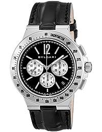 [ブルガリ]BVLGARI 腕時計 ディアゴノタキメトリック ブラック文字盤 DG41BSLDCHTA メンズ 【並行輸入品】