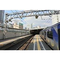横浜高速鉄道車両Y500系が渋谷東急地上駅に停車2013年のポストカード絵葉書ハガキ