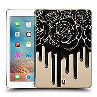 Head Case Designs ローズ ブラック・ドリップ ハードバックケース iPad 9.7 2017 / iPad 9.7 2018