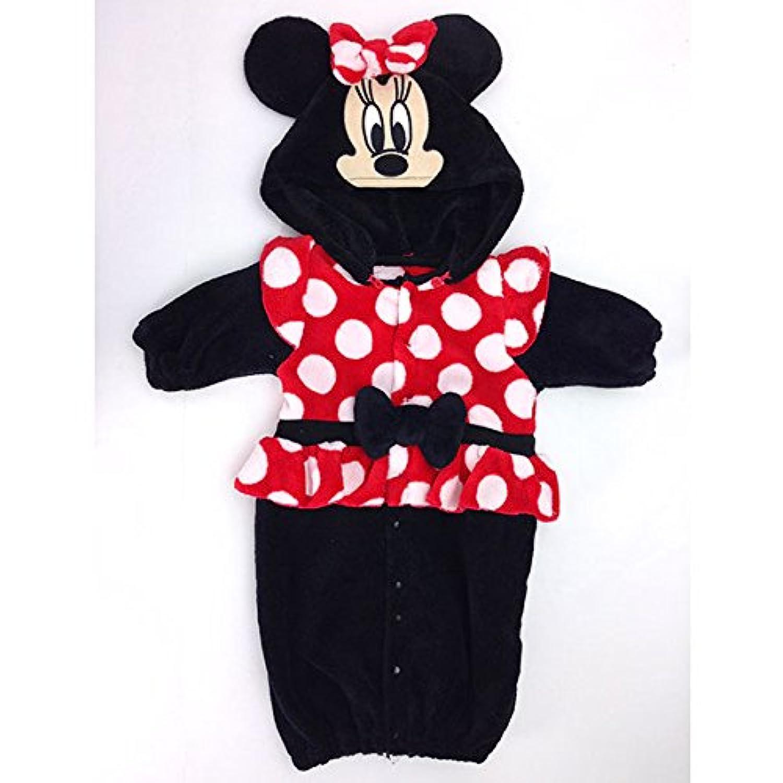 ディズニー ミニー なりきり新生児ドレス 70㎝