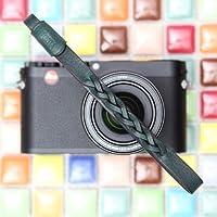 CIESTA Hand Made本革カメラ手首ストラップMano for Mirrorless RF Range Finder Leica Sony Fujifilm Olympus、css-hmw-05Gianoダークグリーン