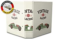 バインダー 2 Ring Binder Lever Arch Folder A4 printed Car racing