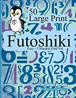Futoshiki : Easy - 5 Number Grid Vol. 1: 50 Large Print Easy 5 x 5 Grids for Kids