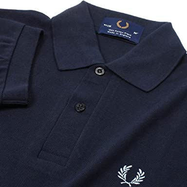 The Original Fred Perry Shirt M3N: Navy