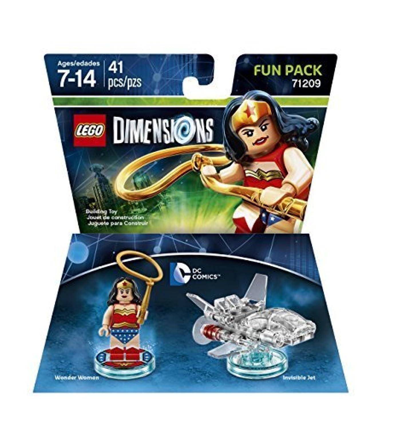 彼ら非アクティブうまれたDC Wonder Woman Fun Pack - LEGO Dimensions by Warner Home Video - Games [並行輸入品]