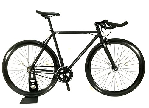 ピストバイク風神 Bulhorn Bar HMC Original (Matte Black, 520)
