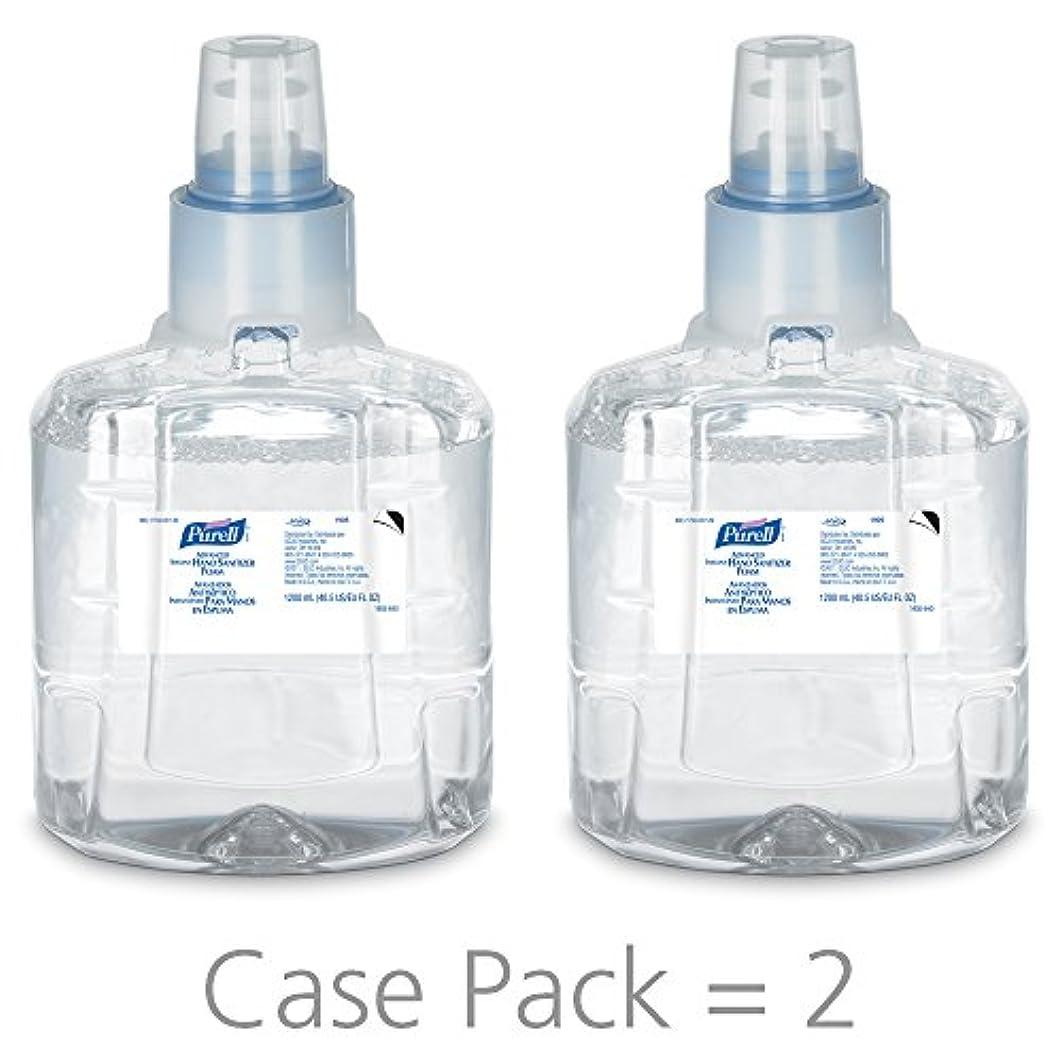 オーガニックレーニン主義オーナーPURELL 1905-02 1200 mL Advanced Hand Sanitizer Foam, LTX-12 Refill (Pack of 2) by Purell