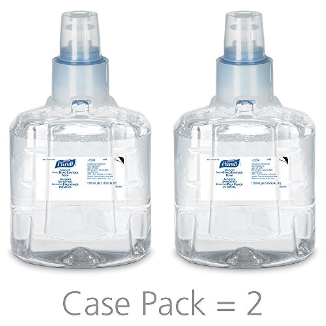 米国同性愛者ペチコートPURELL 1905-02 1200 mL Advanced Hand Sanitizer Foam, LTX-12 Refill (Pack of 2) by Purell