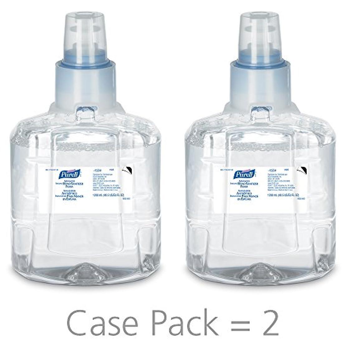 恐れる石のエジプトPURELL 1905-02 1200 mL Advanced Hand Sanitizer Foam, LTX-12 Refill (Pack of 2) by Purell