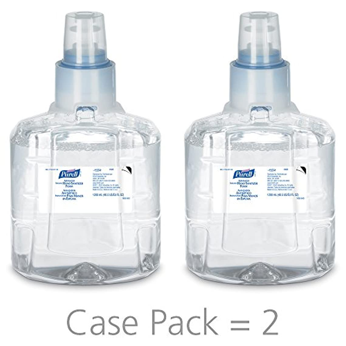 腐ったアコード正確さPURELL 1905-02 1200 mL Advanced Hand Sanitizer Foam, LTX-12 Refill (Pack of 2) by Purell