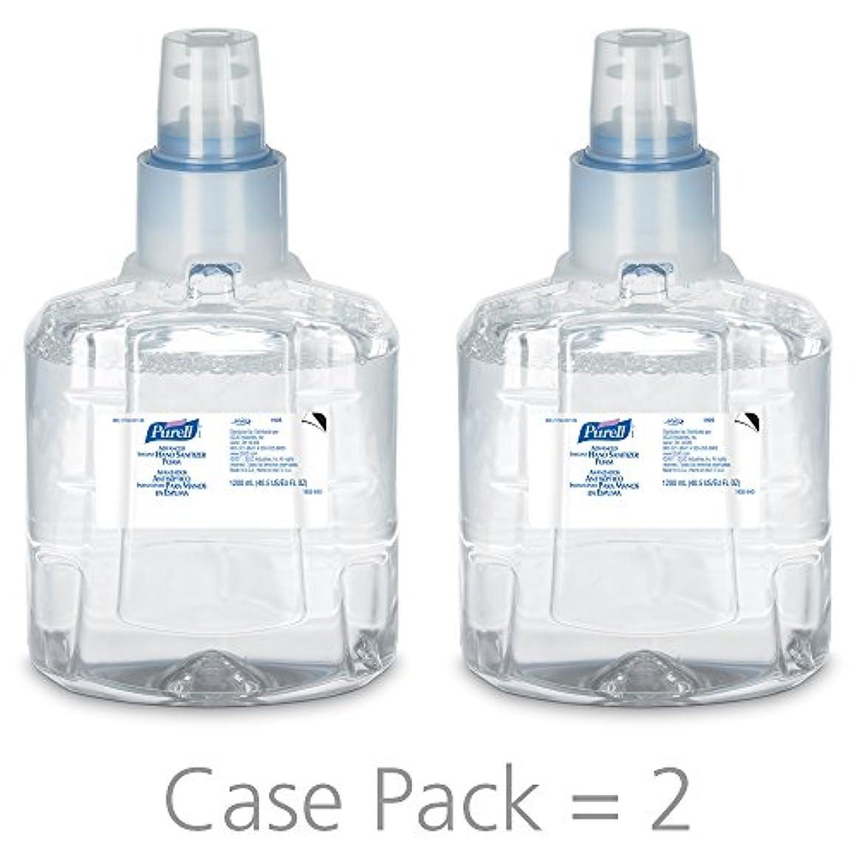 ディレクトリ素晴らしさ人工PURELL 1905-02 1200 mL Advanced Hand Sanitizer Foam, LTX-12 Refill (Pack of 2) by Purell
