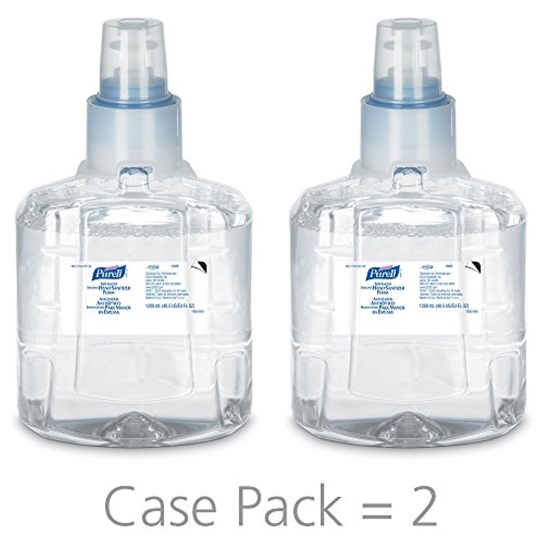 電気的味わうやがてPURELL 1905-02 1200 mL Advanced Hand Sanitizer Foam, LTX-12 Refill (Pack of 2) by Purell